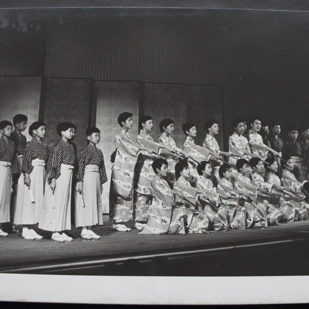 東京少女合唱団ハンガリー合唱団と交歓演奏 S.40.8.1