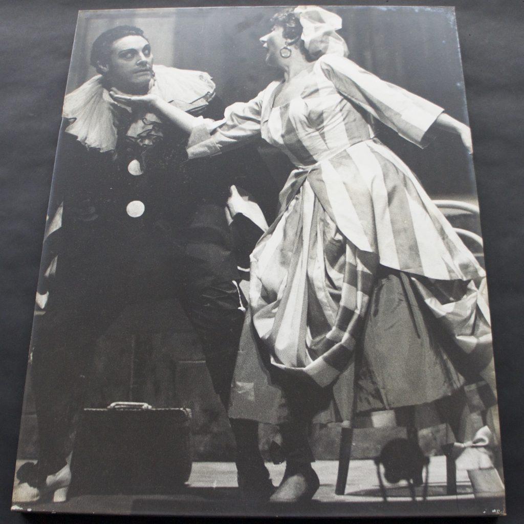 イタリア歌劇団 道化師 S.36.10