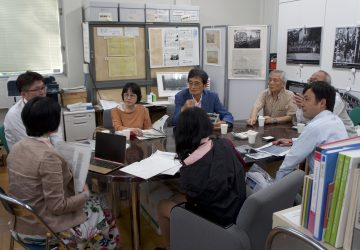 上野の山ボランティアの皆様がご来室されました!