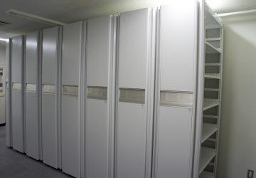 史料室に新しい書庫スペースができました!