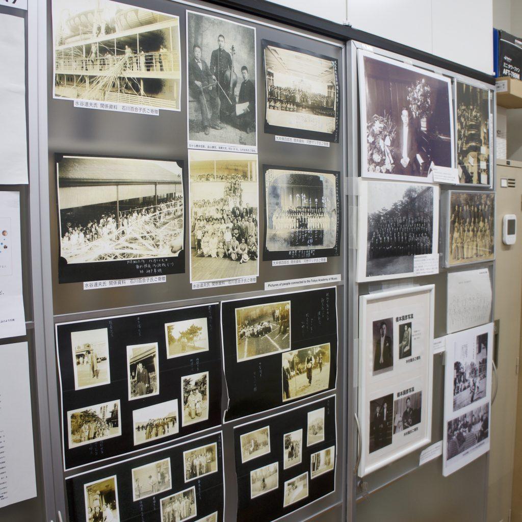 東京音楽学校時代の写真